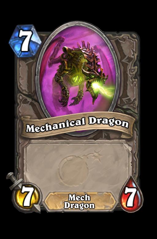 Mechanical Dragon Hearthstone kártya