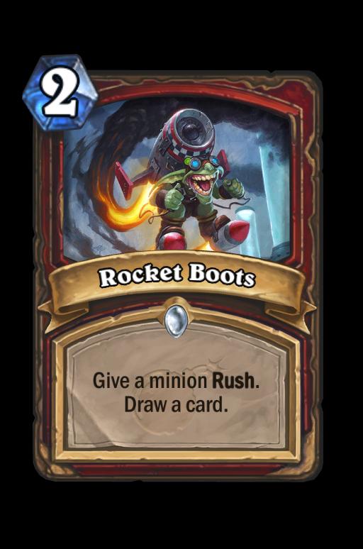 Rocket Boots Hearthstone kártya