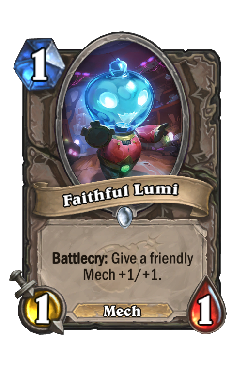 Faithful Lumi Hearthstone kártya