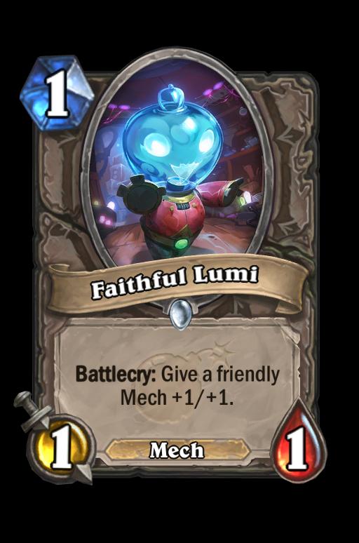 Faithful Lumi Hearthstone kártya