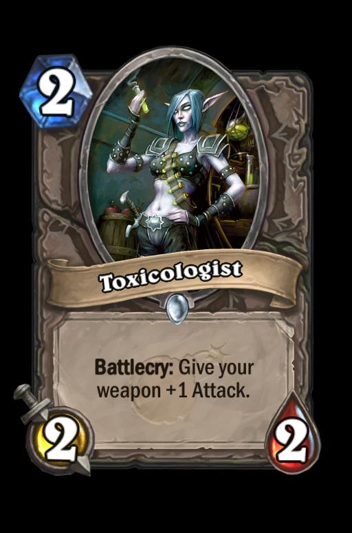 Toxicologist Hearthstone kártya