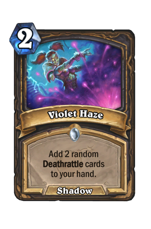 Violet Haze Hearthstone kártya