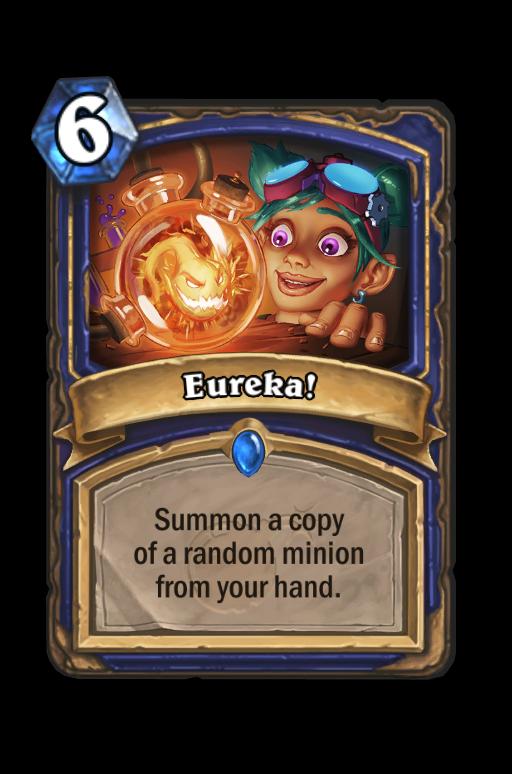 Eureka! Hearthstone kártya