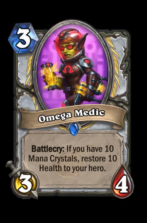 Omega Medic Hearthstone kártya