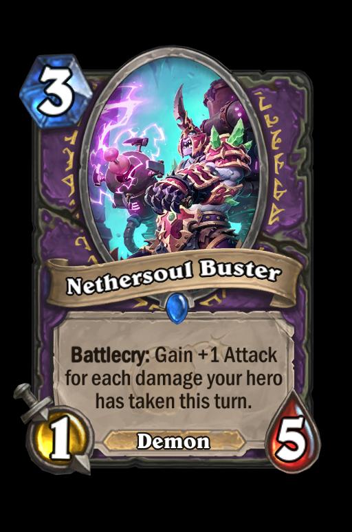 Nethersoul Buster Hearthstone kártya