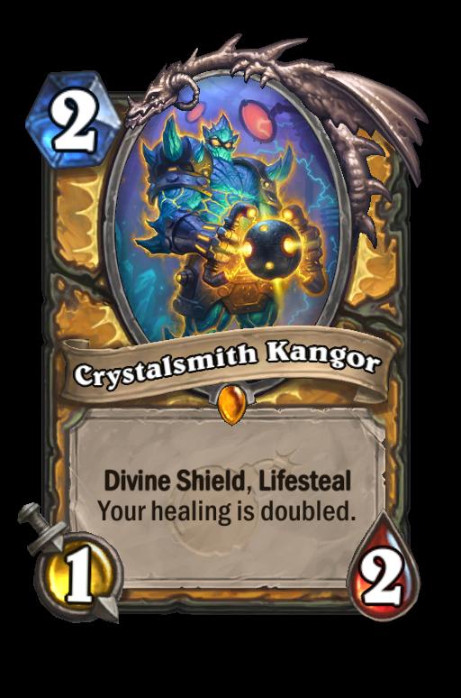 Crystalsmith Kangor Hearthstone kártya