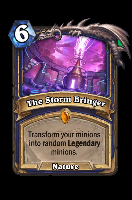 The Storm Bringer Hearthstone kártya