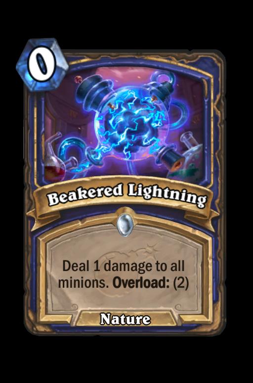 Beakered Lightning Hearthstone kártya