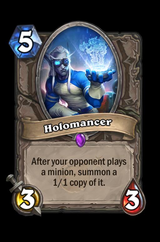 Holomancer Hearthstone kártya