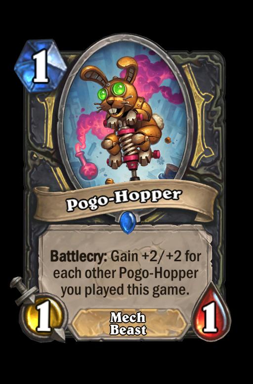 Pogo-Hopper Hearthstone kártya