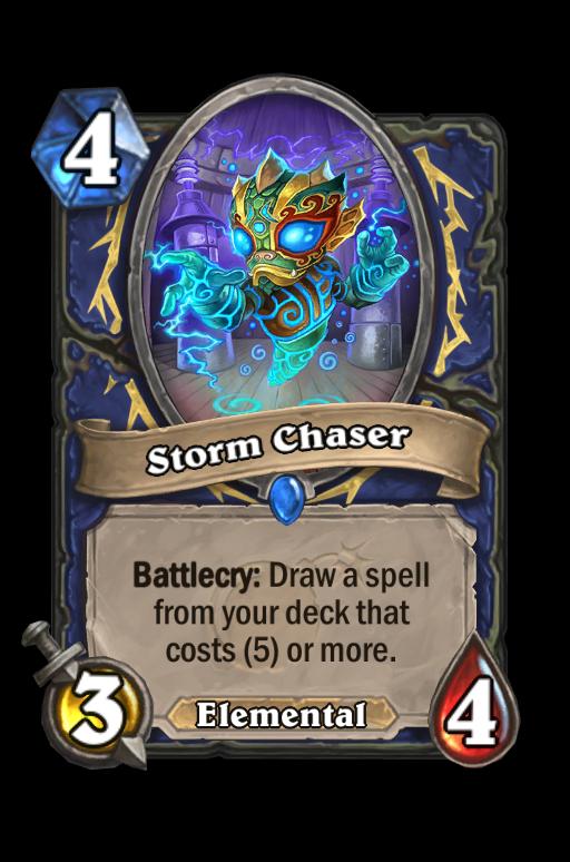Storm Chaser Hearthstone kártya