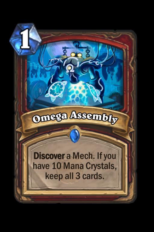 Omega Assembly Hearthstone kártya