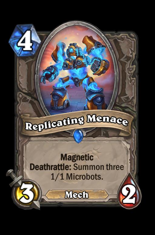 Replicating Menace Hearthstone kártya