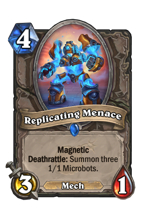 Replicating Menace Hearthstone kártya
