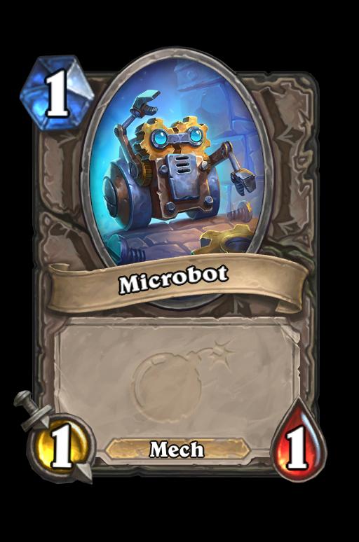 Microbot Hearthstone kártya