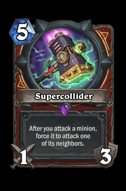 Supercollider Hearthstone kártya