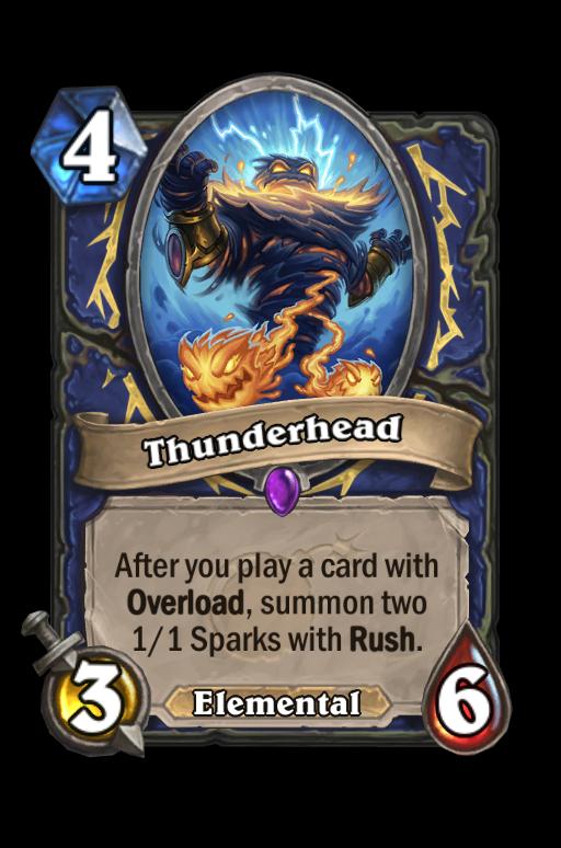 Thunderhead Hearthstone kártya