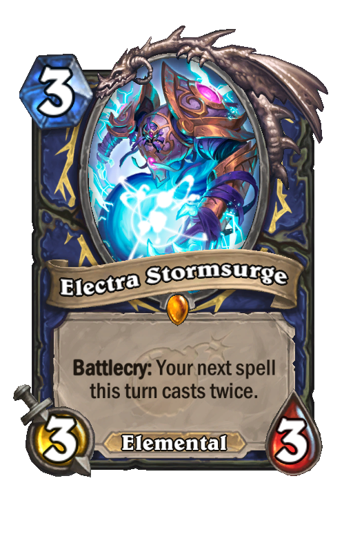 Electra Stormsurge Hearthstone kártya