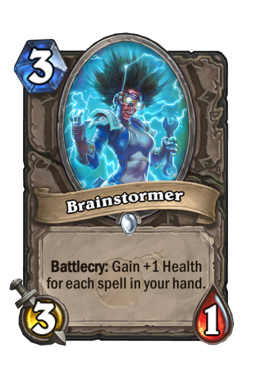 Brainstormer Hearthstone kártya