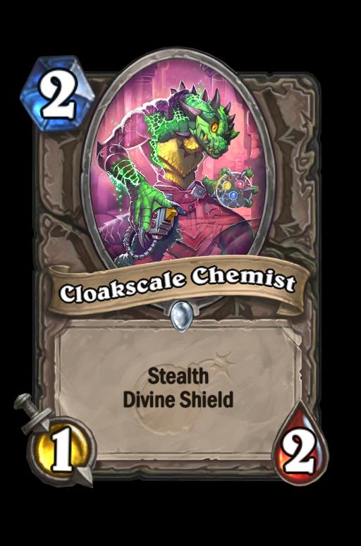 Cloakscale Chemist Hearthstone kártya