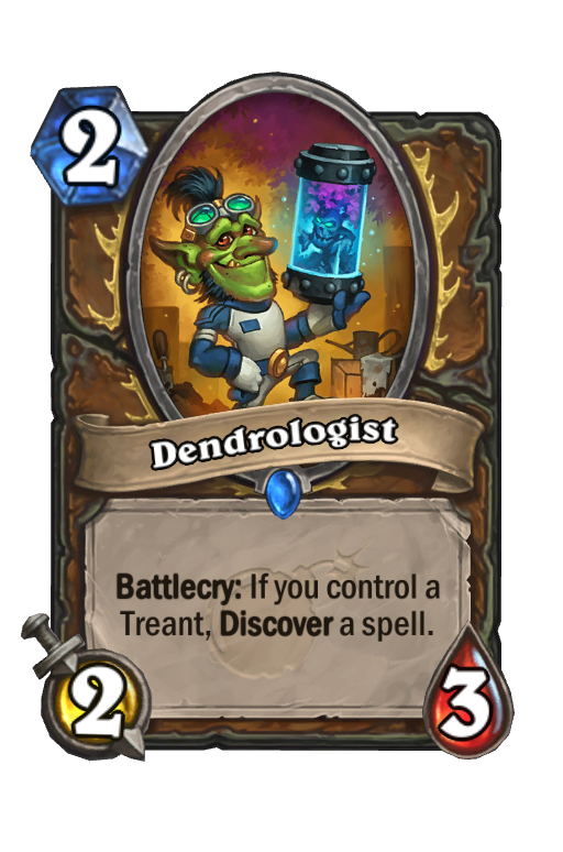 Dendrologist Hearthstone kártya