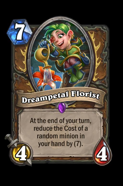 Dreampetal Florist Hearthstone kártya