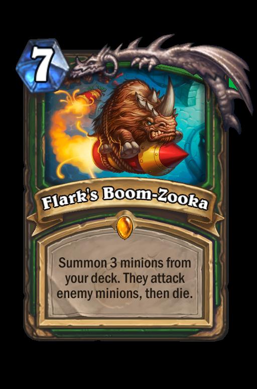 Flark's Boom-Zooka Hearthstone kártya