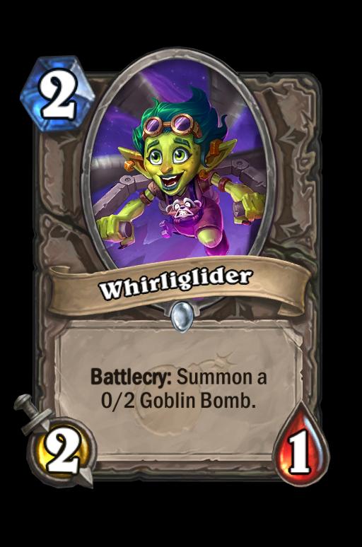 Whirliglider Hearthstone kártya