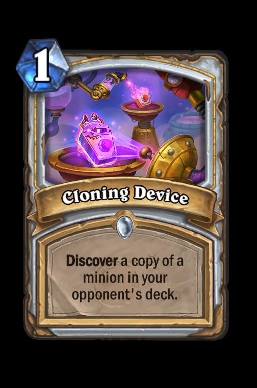 Cloning Device Hearthstone kártya