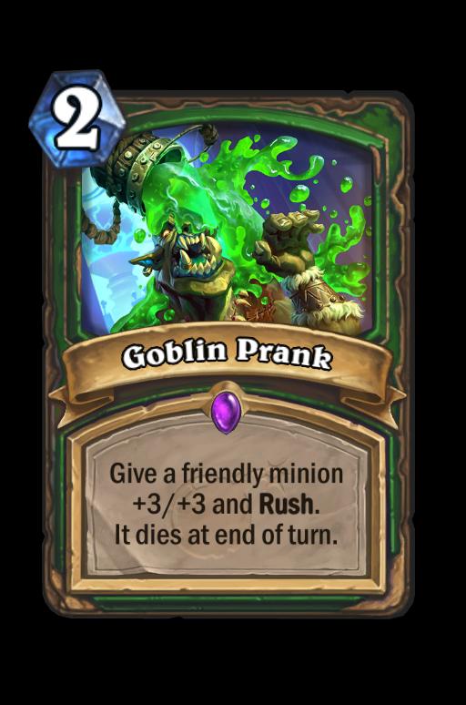 Goblin Prank Hearthstone kártya
