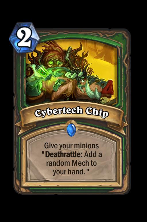 Cybertech Chip Hearthstone kártya