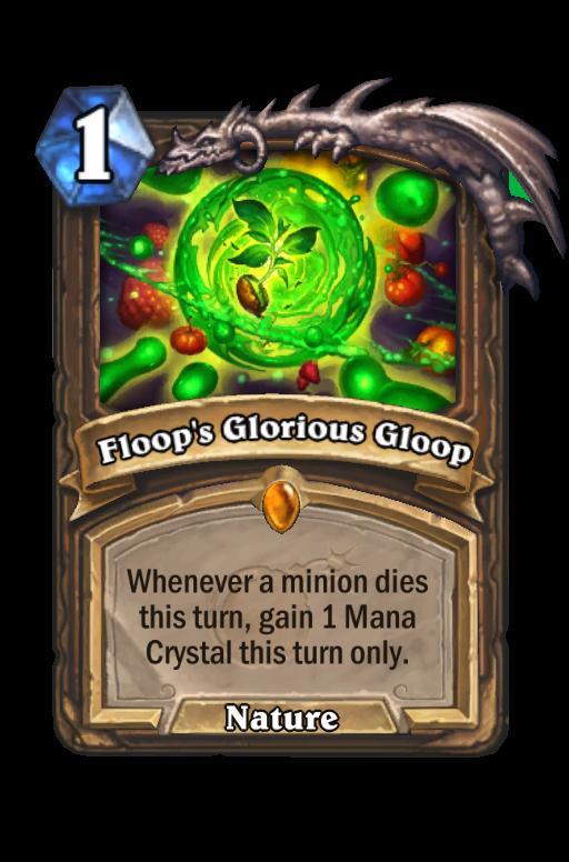 Floop's Glorious Gloop Hearthstone kártya