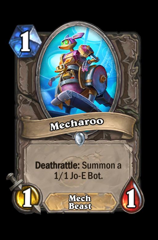 Mecharoo Hearthstone kártya