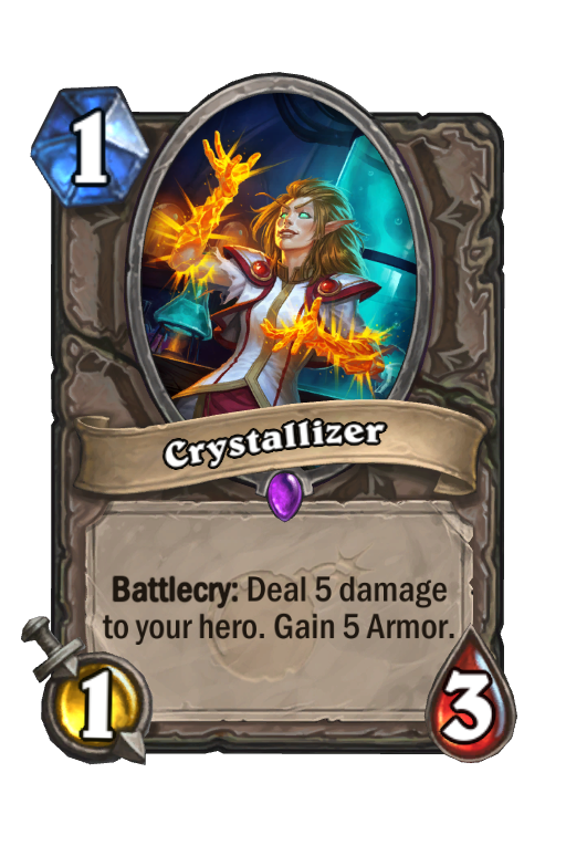 Crystallizer Hearthstone kártya
