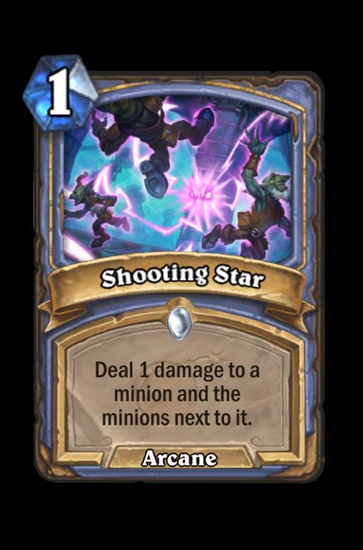 Shooting Star Hearthstone kártya