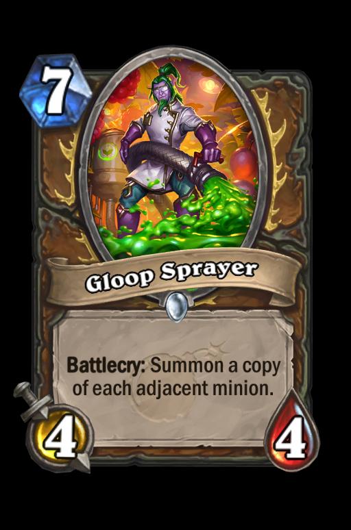 Gloop Sprayer Hearthstone kártya