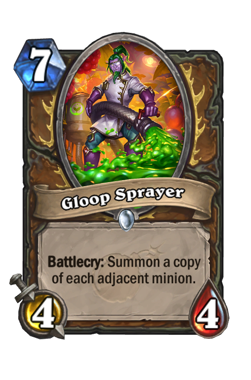 Gloop Sprayer Hearthstone kártya