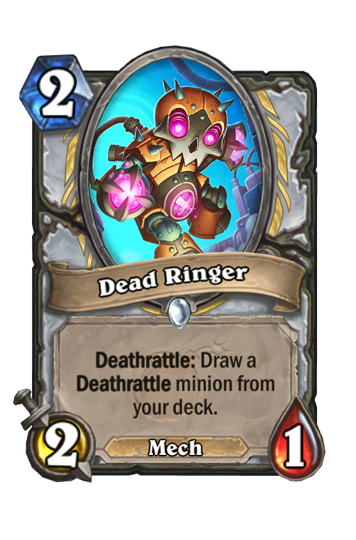 Dead Ringer Hearthstone kártya