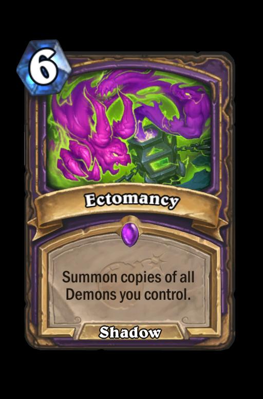 Ectomancy Hearthstone kártya
