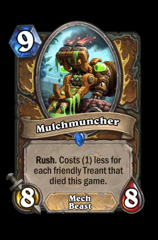 Mulchmuncher Hearthstone kártya