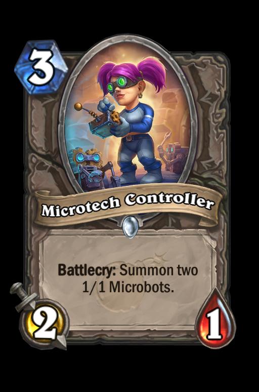 Microtech Controller Hearthstone kártya