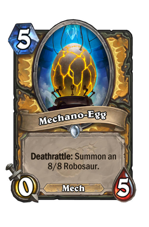 Mechano-Egg Hearthstone kártya
