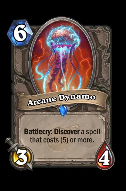 Arcane Dynamo Hearthstone kártya