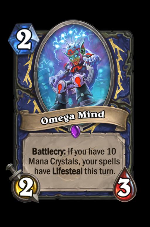 Omega Mind Hearthstone kártya