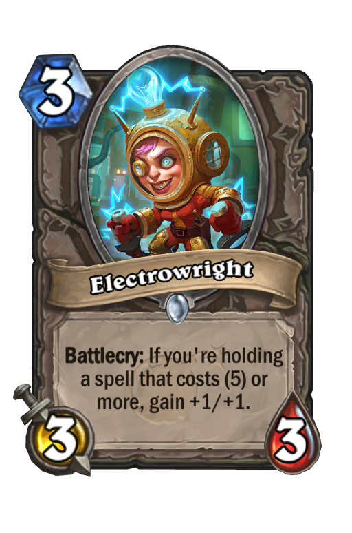 Electrowright Hearthstone kártya