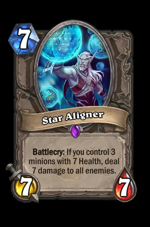 Star Aligner Hearthstone kártya