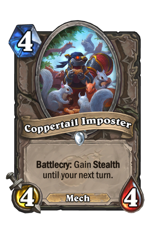 Coppertail Imposter Hearthstone kártya