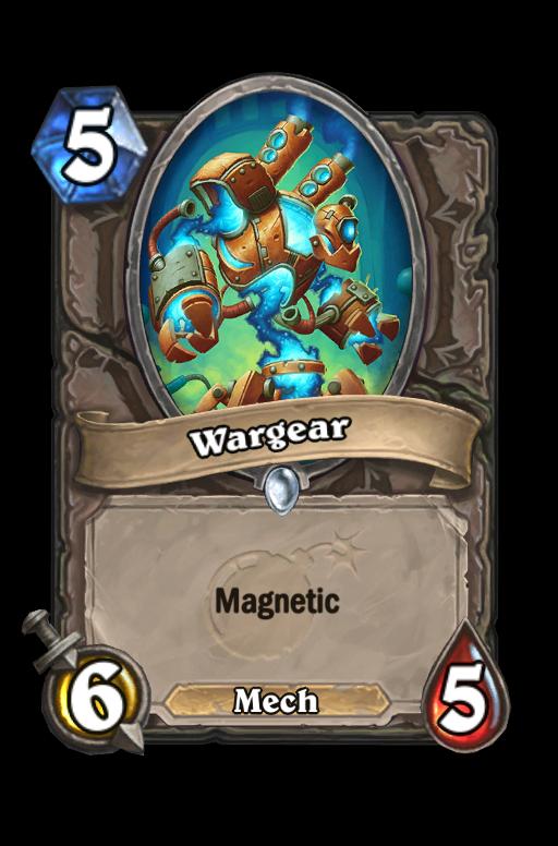 Wargear Hearthstone kártya