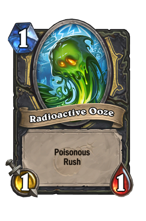 Radioactive Ooze Hearthstone kártya