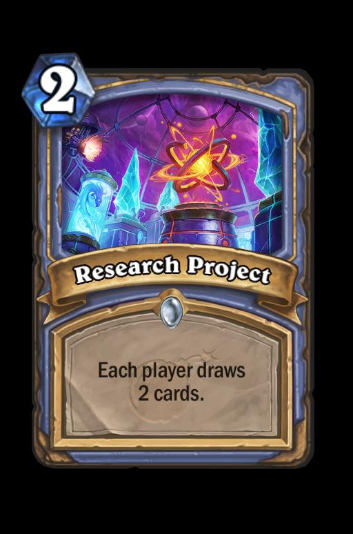 Research Project Hearthstone kártya